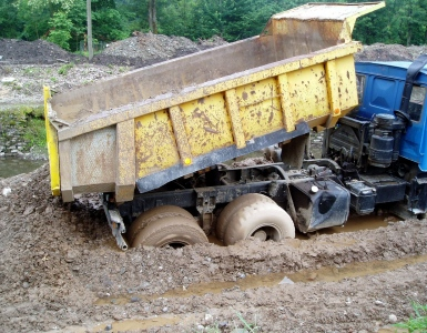 How To Stay Safe While Working With A Dump Truck