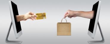 e-commerce website homepage